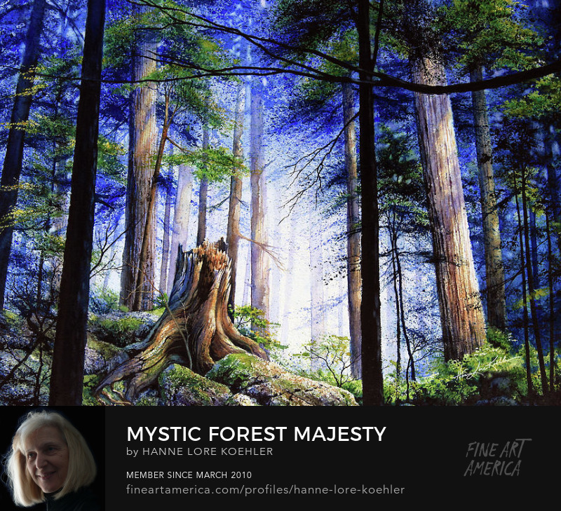 Forest Painting Art Prints