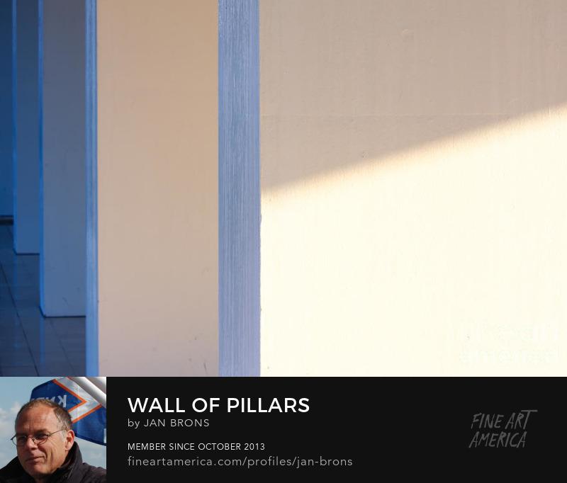 Wall of pillars - Art Online