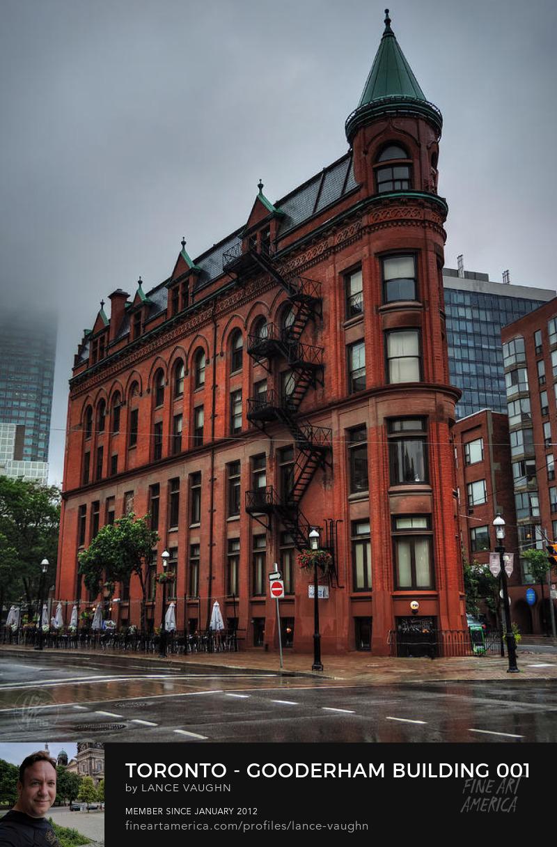 Gooderham Building Toronto historic flatiron photograph by Lance Vaughn