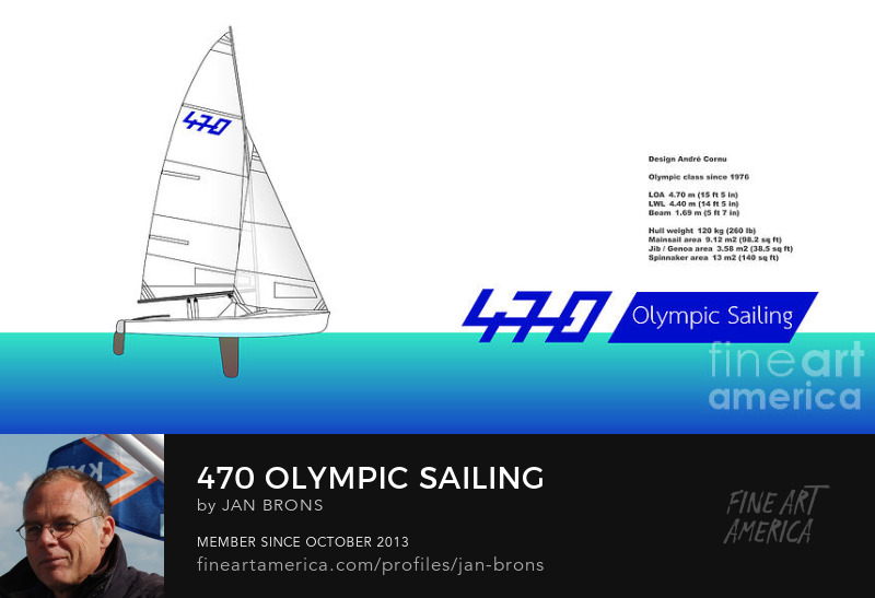 470 Olympic Sailing - Photography Prints