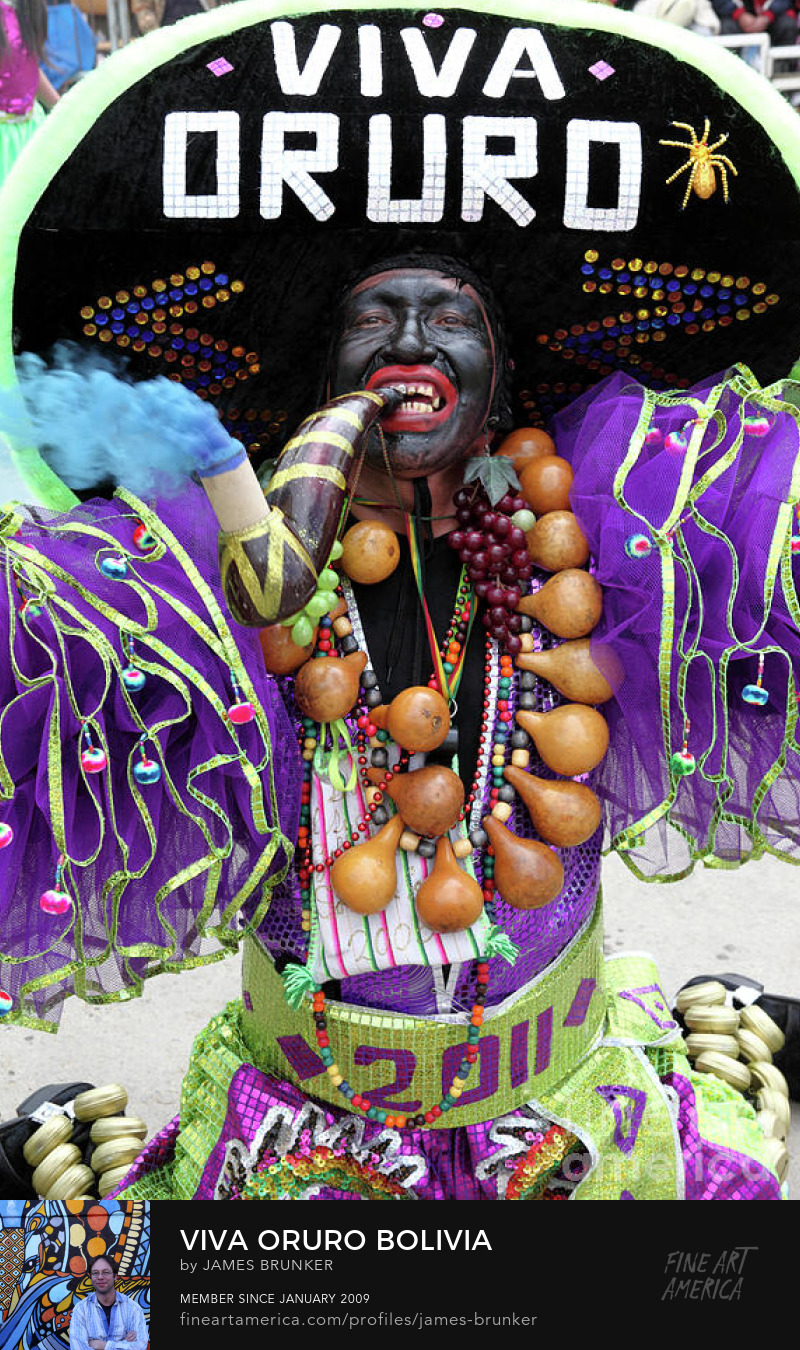 Oruro Carnival Art