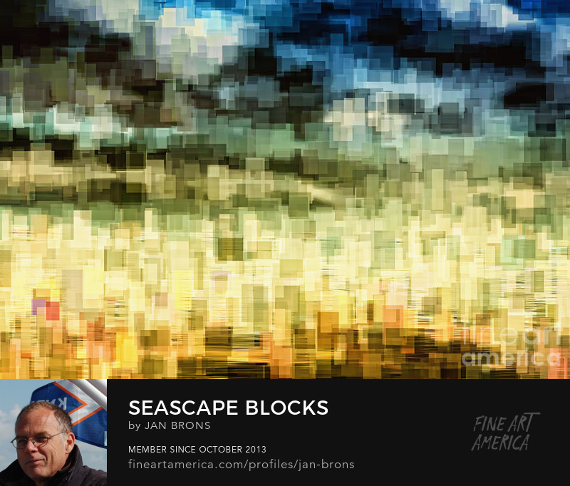 Seascape blocks - Art Online