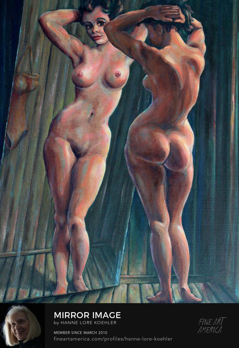 Female Nude Art Prints