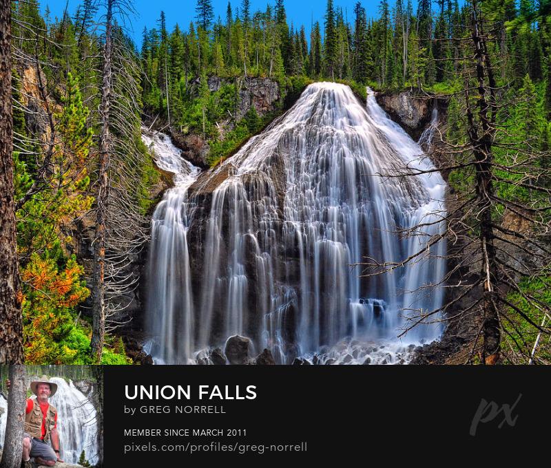 Yellowstone Union Falls