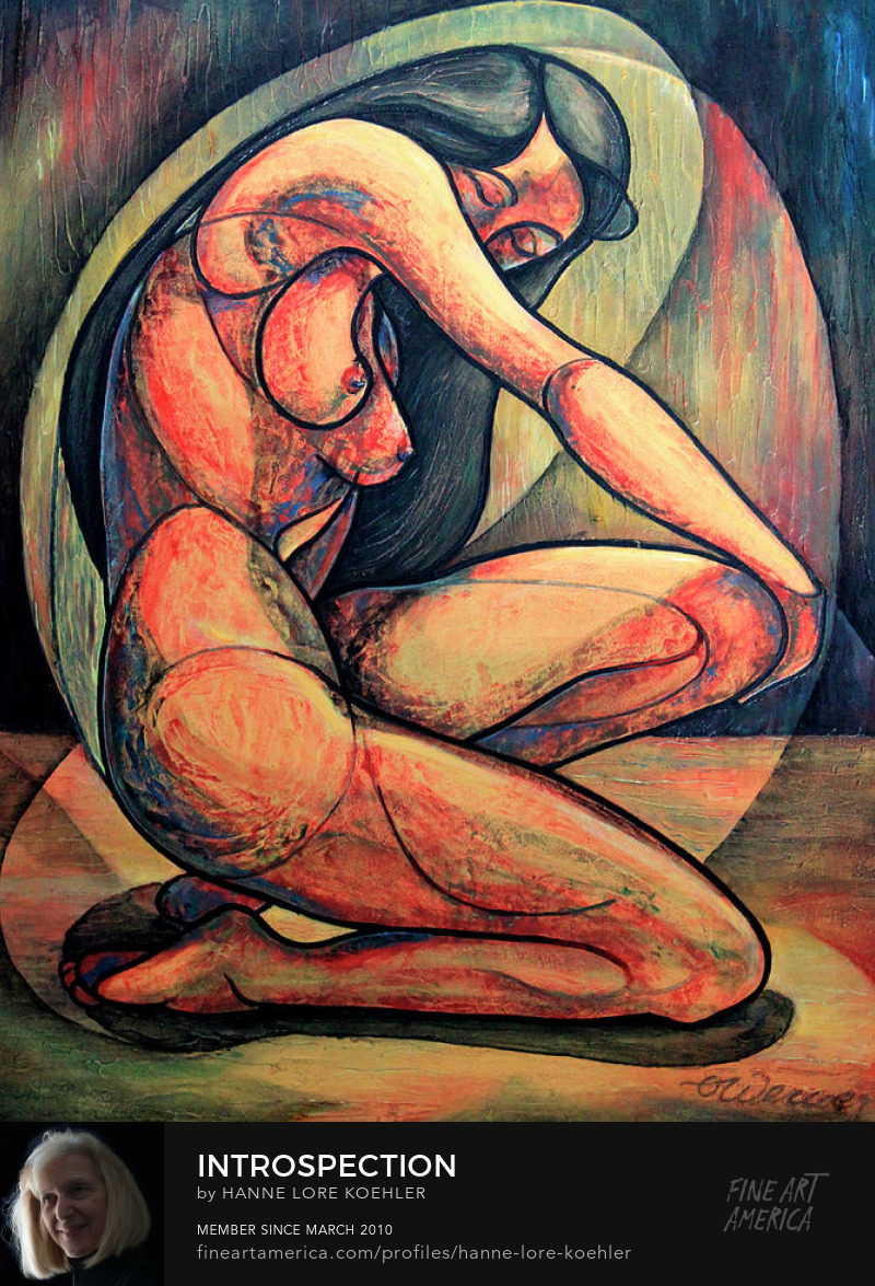 Nude Woman Art Prints