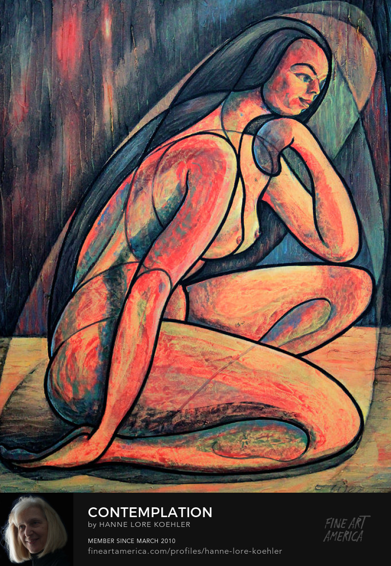Modern Nude Art Print