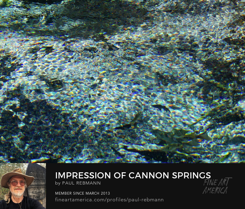 View online purchase options for Impression of Cannon Springs by Paul Rebmann