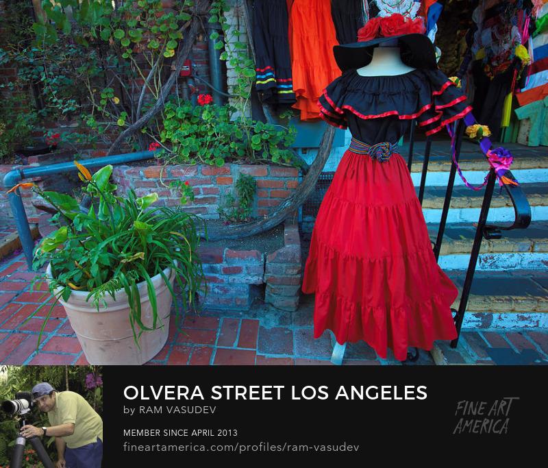 Olvera Street by Ram Vasudev