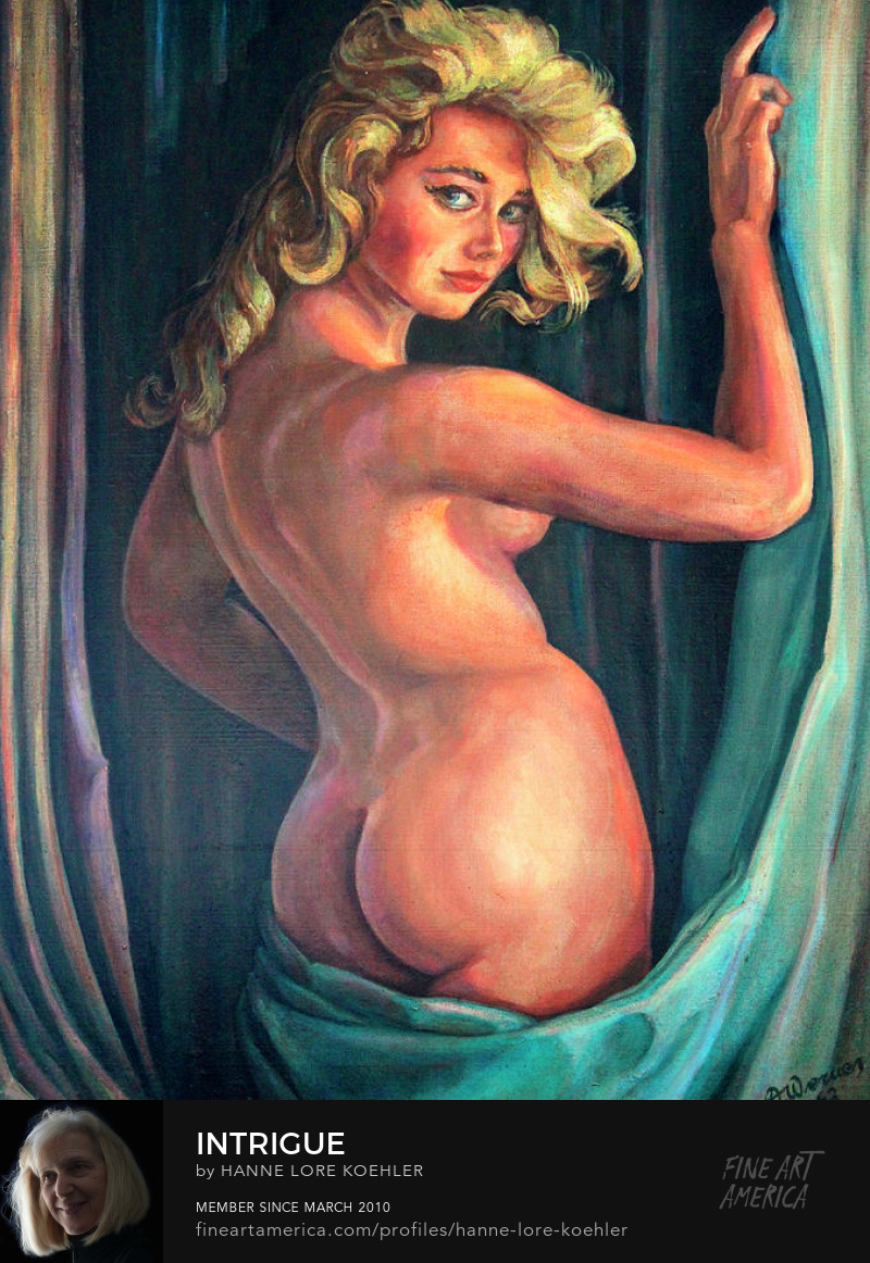 Female Nude Oil Painting and canvas Art Prints
