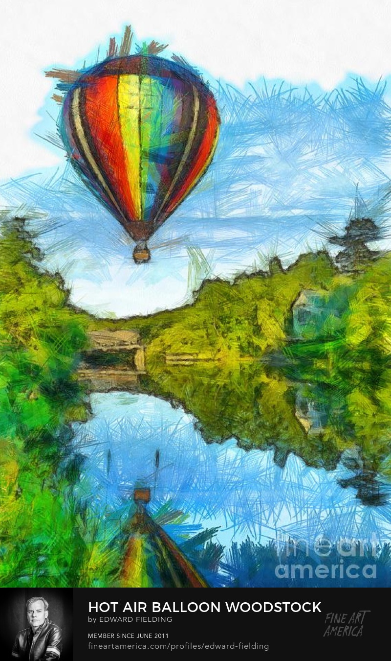 hot air balloon Art Online