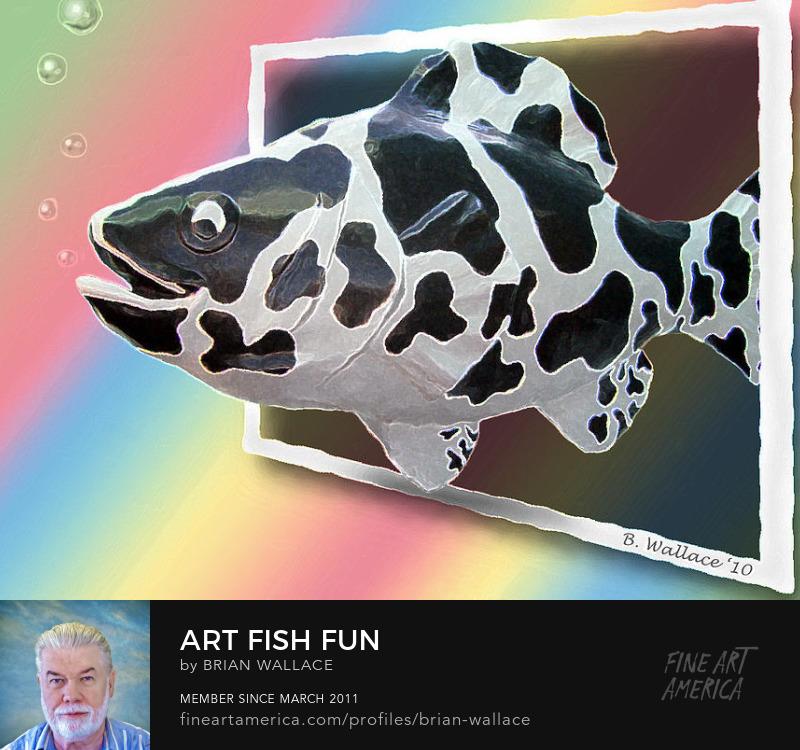 Art Fish Fun by Brian Wallace