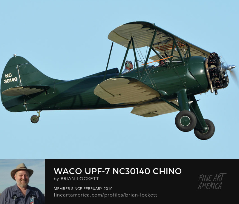 Waco UPF-7 NC30140 at Chino, California, April 29, 2016
