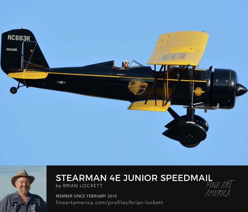 Stearman 4E Junior Speedmail NC663K at Chino, California, April 29, 2016