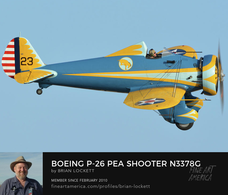 Boeing P-26 Pea Shooter N3378G at Chino, California, April 29, 2016