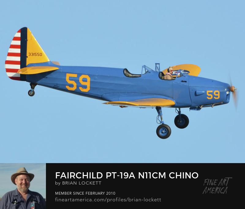 Fairchild PT-19A N11CM at Chino, California on April 29, 2016., 2016