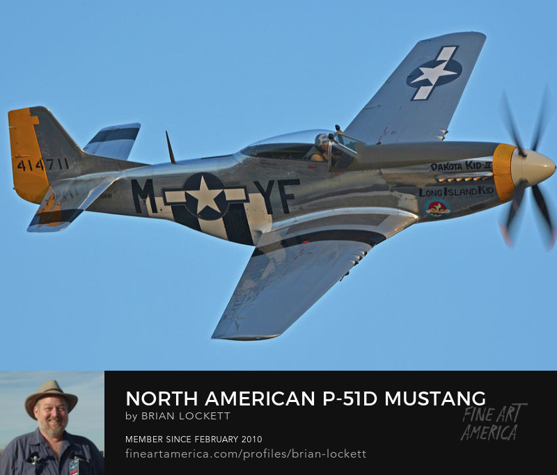North American P-51D Mustang NL151HR Dakota Kid II/Long Island Kid at Chino, California on April 29, 2016, 2016