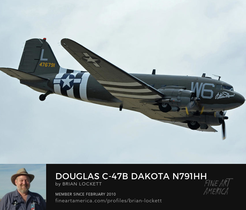 Douglas C-47B Dakota N791HH Willa Dean at Chino, California on April 30, 2016, 2016
