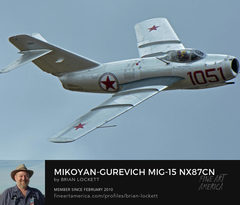 Mikoyan-Gurevich MiG-15 NX87CN at Chino, California on April 30, 2016, 2016