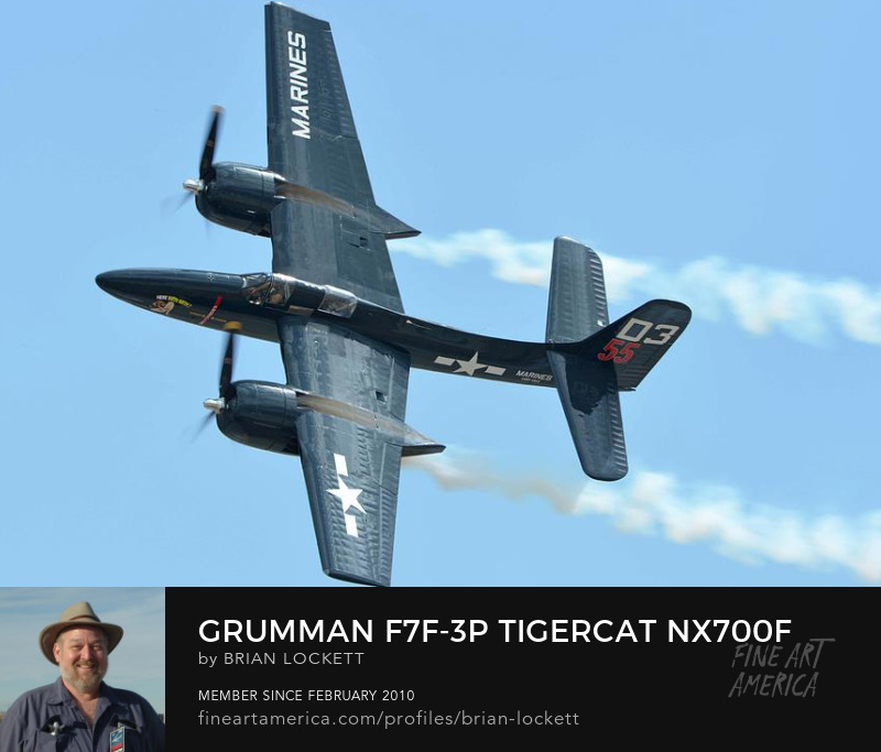 Grumman F7F-3P Tigercat NX700F Here Kitty Kitty at Chino, California on April 30, 2016, 2016