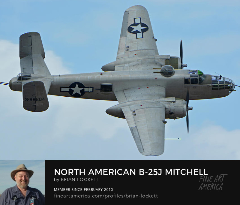 North American B-25J Mitchell N9856C Pacific Princess at Chino, California on April 30, 2016, 2016