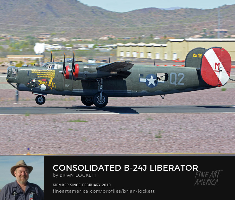 Consolidated B-24J Liberator N224J Witchcraft at Deer Valley, Arizona, April 13, 2016