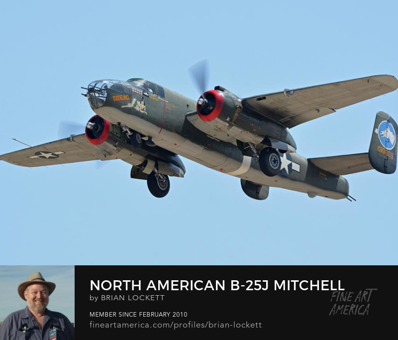 North American B-25J Mitchell NL3476G Tondelayo at Phoenix-Mesa Gateway Airport, Arizona, April 15, 2016