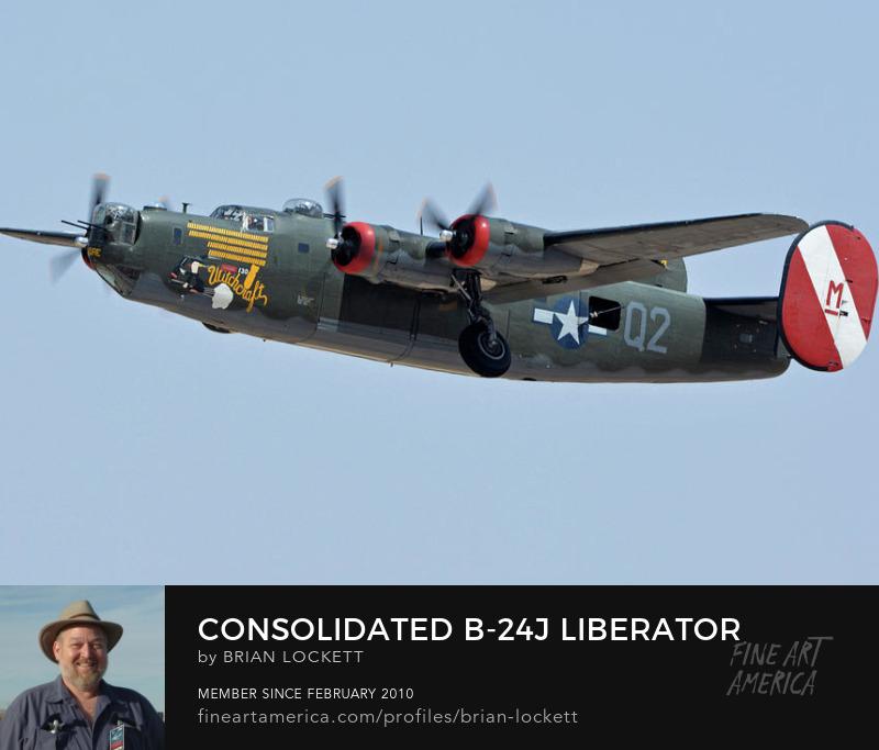 Consolidated B-24J Liberator N224J Witchcraft at Phoenix-Mesa Gateway Airport, Arizona, April 15, 2016