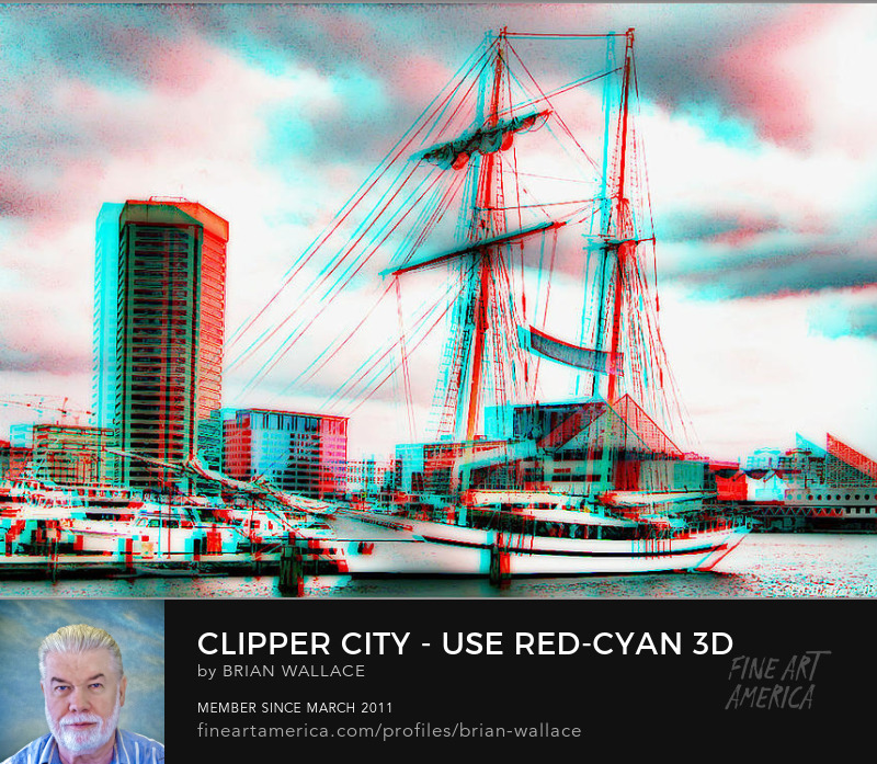 Clipper City - Use Red-cyan 3d Glasses