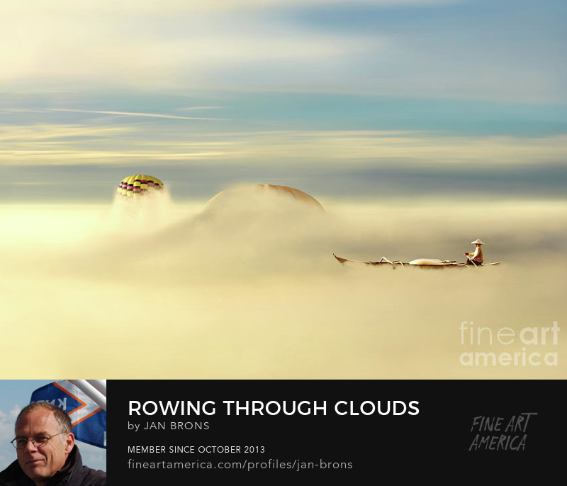 Rowing through clouds - Art Online