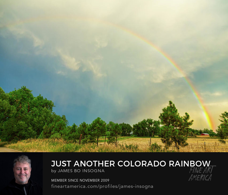Colorado rainbow art