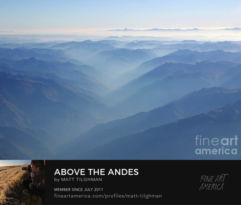 Andes Mountains Photography Prints
