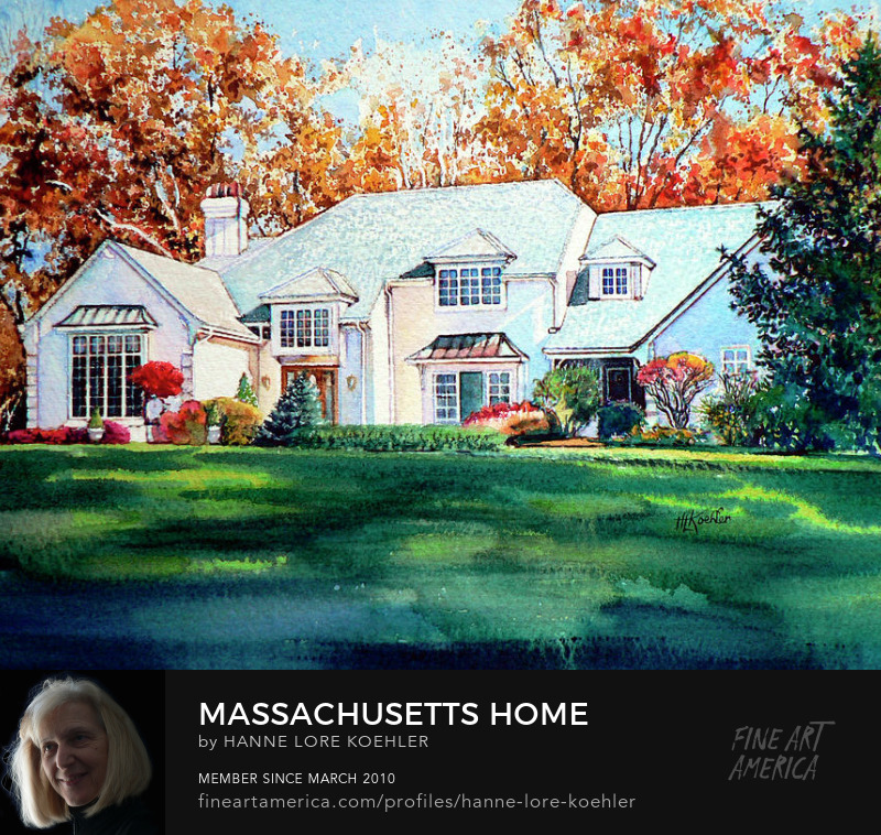 Massachusetts House Portrait