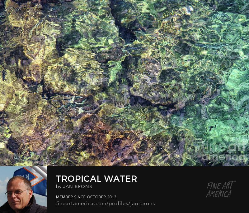 Tropical Water - Photography Print
