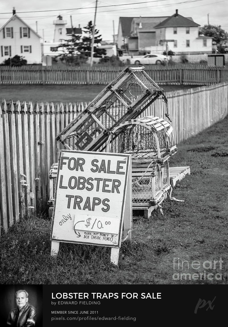 Lobster trap Photography Prints