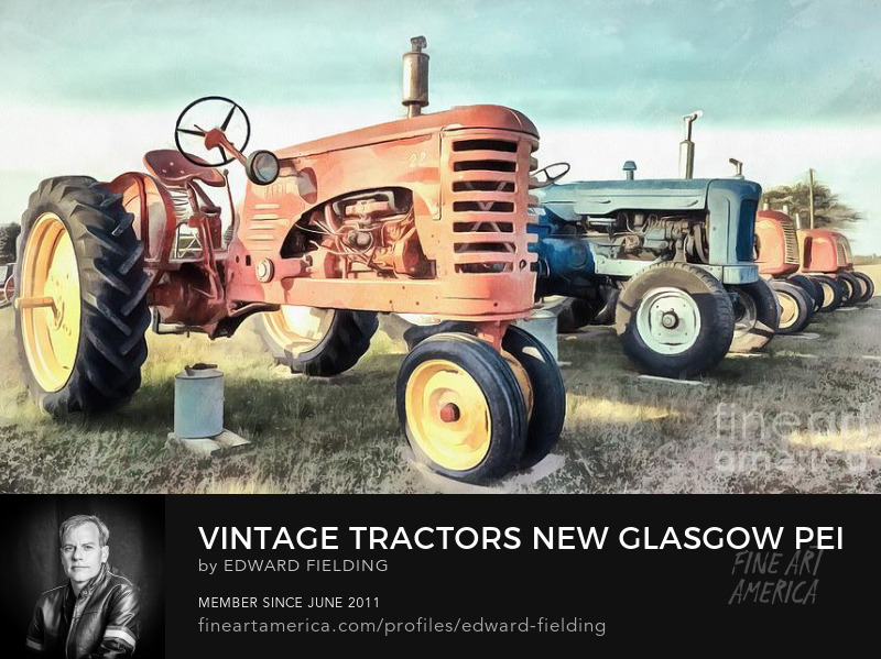 Vintage Tractor Photography Prints