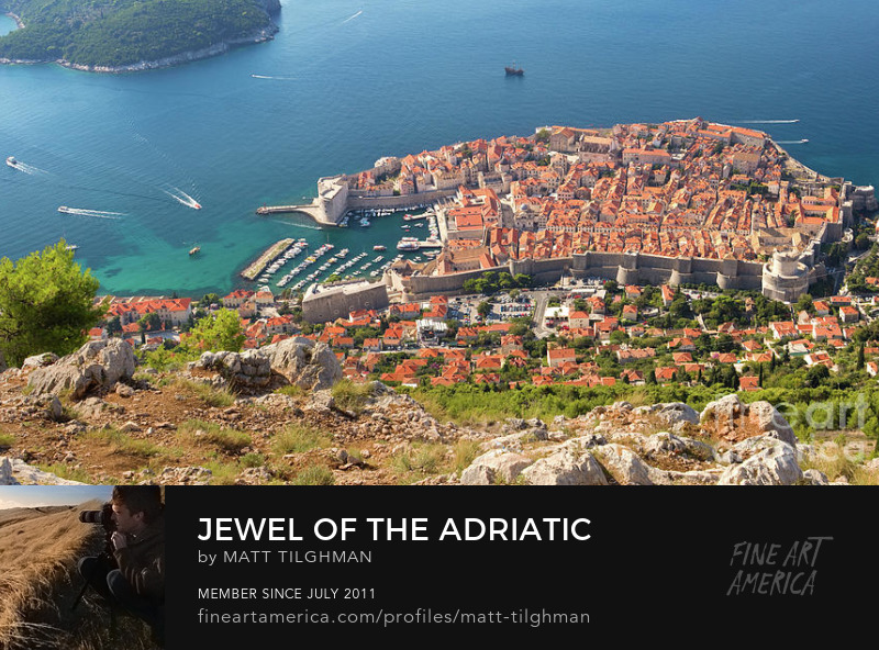 Dubrovnik, Croatia Art Prints
