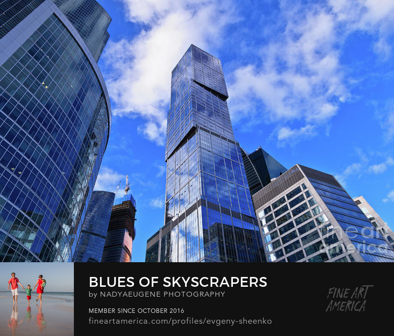 Blues of skyscrapers by Nadya&Eugene Photography