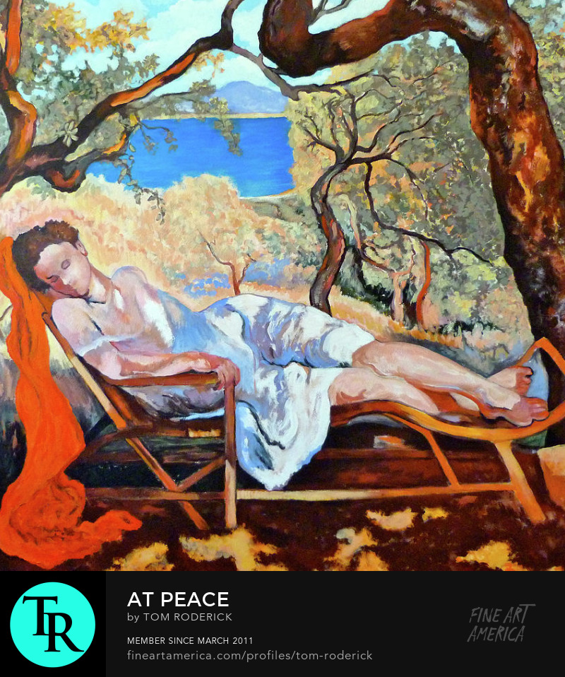 At Peace by Boulder artist Tom Roderick