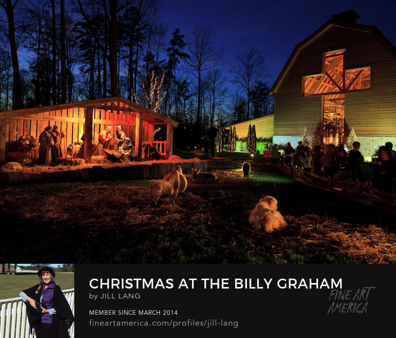 Billy Graham Library Live Nativity