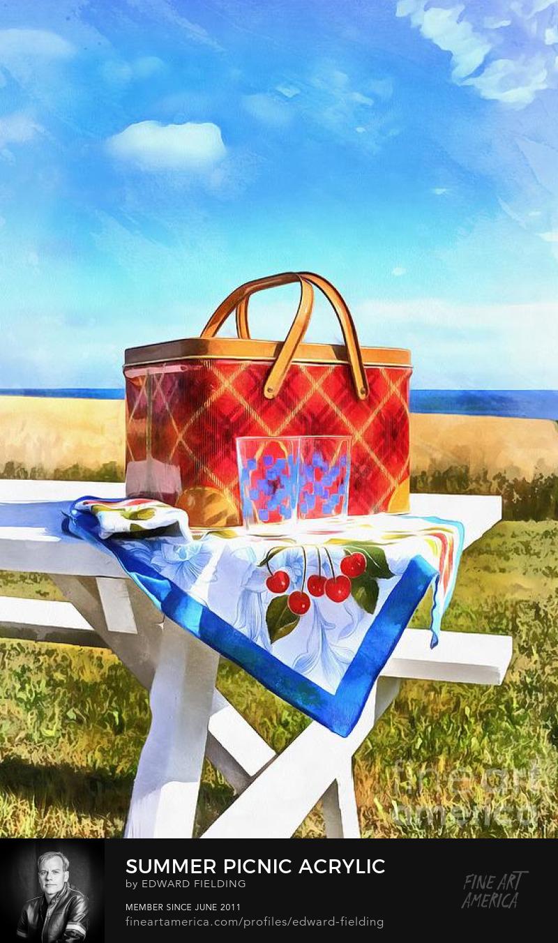 picnic Art Prints