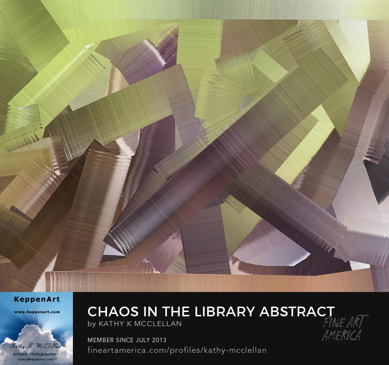 Chaos In The Library by Kathy K. McClellan