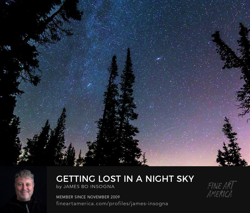 Getting Lost In A Night Sky Art Online