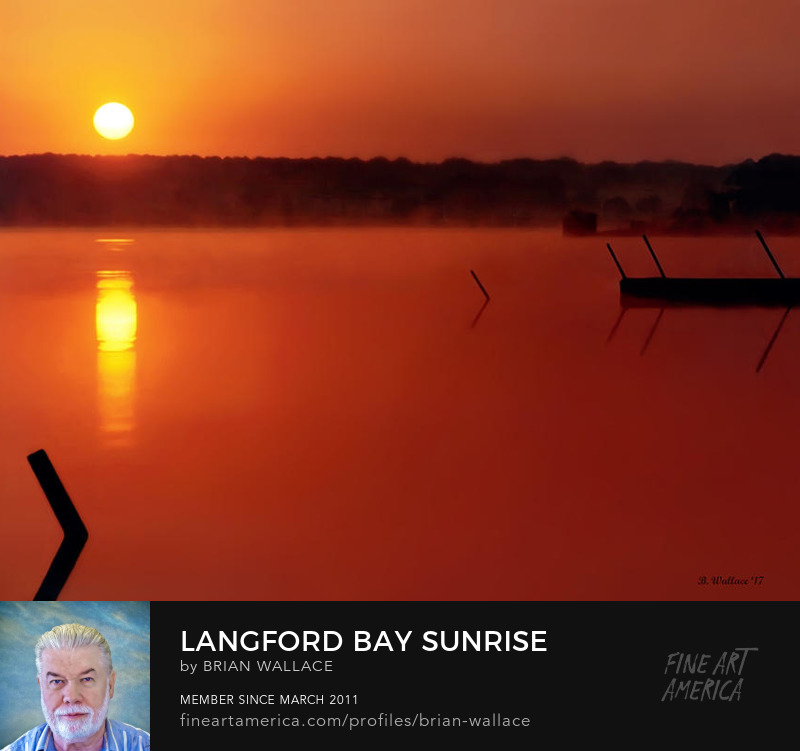 Langford Bay Sunrise by Brian Wallace