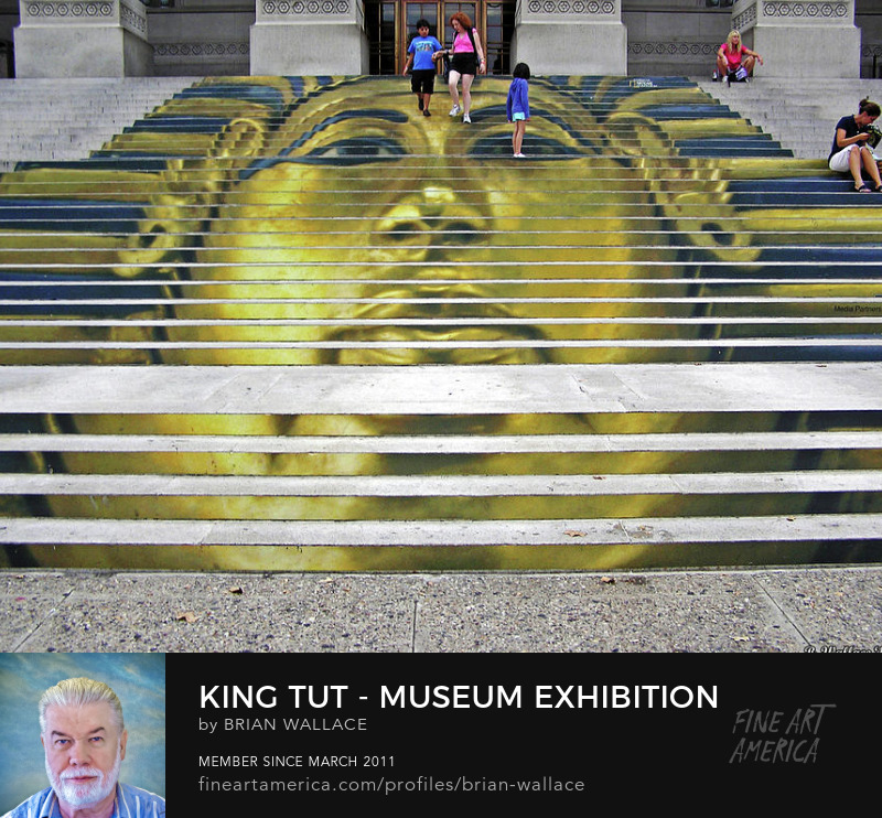 King Tut Museum Exhibition by Brian Wallace