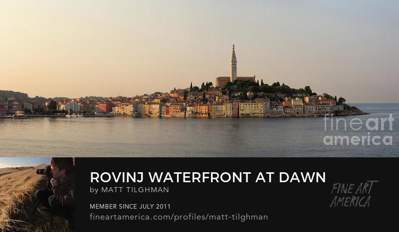 Rovinj Waterfront Art