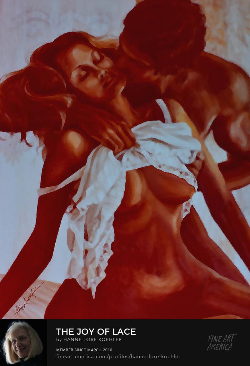 Nude Boudoir Painting