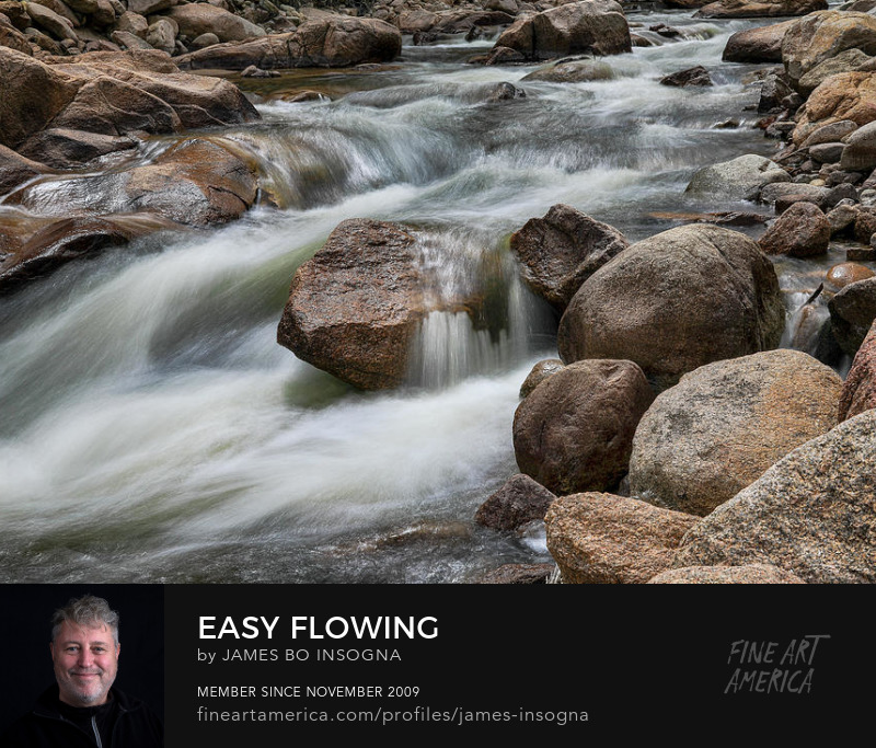 Creeks Be Easy Flowing Photography Prints