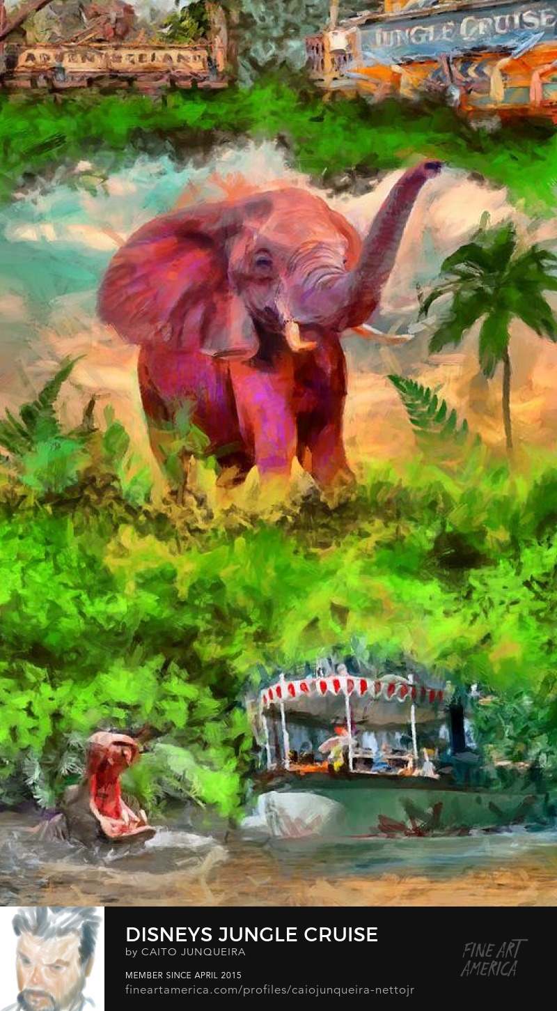 Jungle Cruise Poster art prints