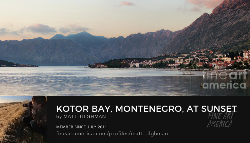 Kotor Bay Montenegro Photography Prints