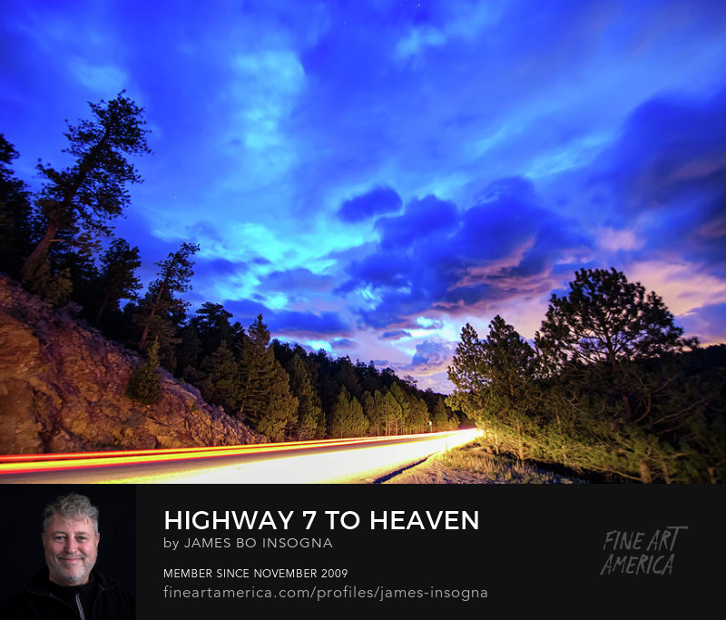 highway seven to heaven art prints